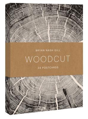 Woodcut Postcards (24 Postcards, 12 Designs)