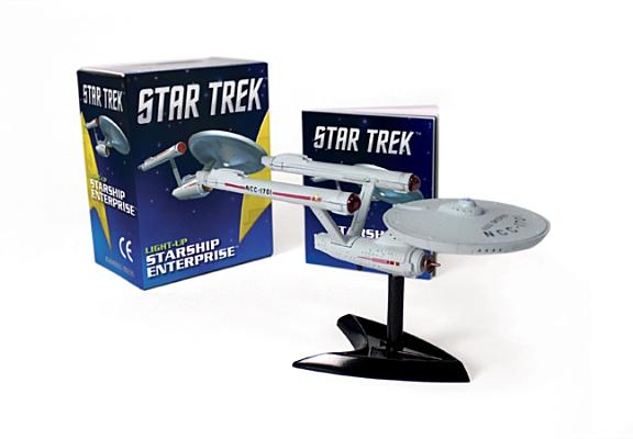 "Star Trek Light-Up Starship Enterprise [With Book(s) and 5"" Assemble-Your-Own Light-Up Starship Replica]"