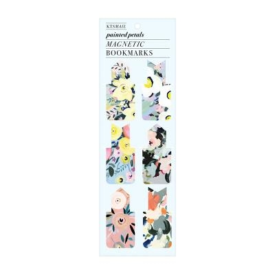 Painted Petals Magnetic Bookmark