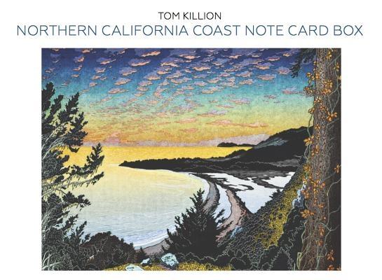 Northern California Coast Note Card Box