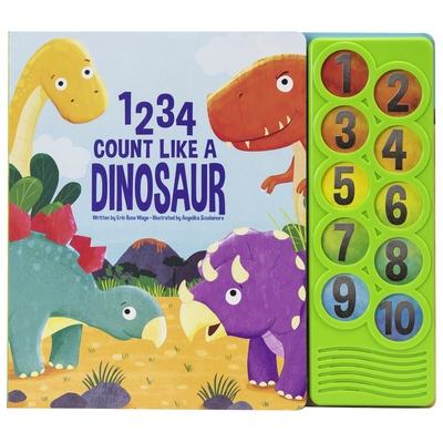 1 2 3 4 Count Like a Dinosaur