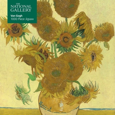 Adult Jigsaw Puzzle National Gallery: Vincent Van Gogh, Sunflowers: 1000-Piece Jigsaw Puzzles