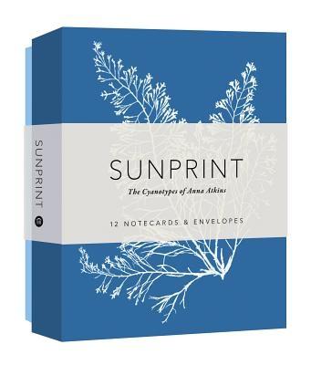 Sunprint Notecards: The Cyanotypes of Anna Atkins (12 Notecards; 12 Designs; Matching Envelopes; Keepsake Box)