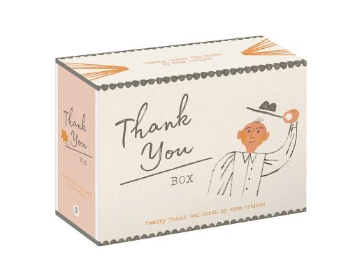 Thank You Box: 20 Thank-You Cards by 5 Artists (Blank Inside - All Occasion - 20-Count Thank You Notecard Set)