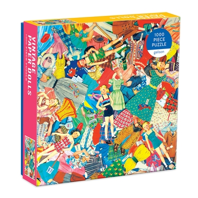 Vintage Paper Dolls 1000 Piece Puzzle in Square Box