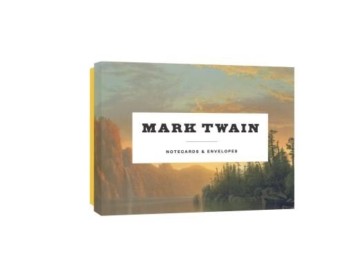 Mark Twain Notecards: 12 Literary Notecards with Envelopes (Wit and Wisdom from Mark Twain, Boxed Card Set with Themed Envelopes, Gift for A