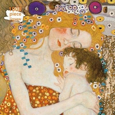 Adult Jigsaw Puzzle Gustav Klimt: Three Ages of Woman: 1000-Piece Jigsaw Puzzles