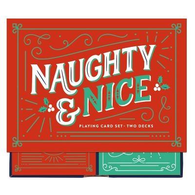Naughty & Nice Playing Card Set