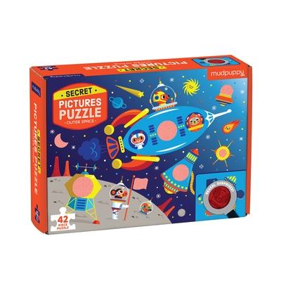 Outer Space Secret Picture Puzzle