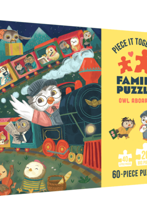 Piece It Together Family Puzzle: Owl Aboard!