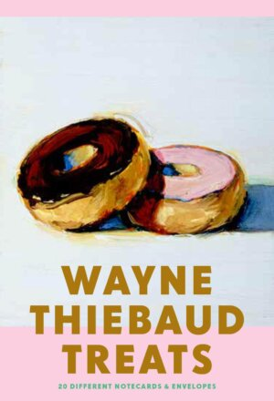 Wayne Thiebaud Treats: 20 Different Notecards & Envelopes