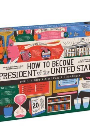 How to Become President of the United States 500 Piece Double-Sided Puzzle