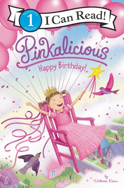Pinkalicious: Happy Birthday! ( I Can Read Level 1 )