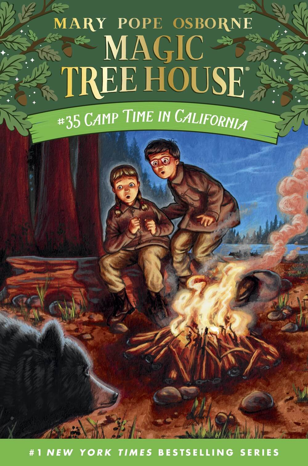 Camp Time in California ( Magic Tree House (R) #35 )