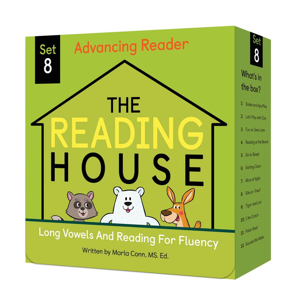 The Reading House Set 8: Long Vowels and Reading for Fluency ( The Reading House )