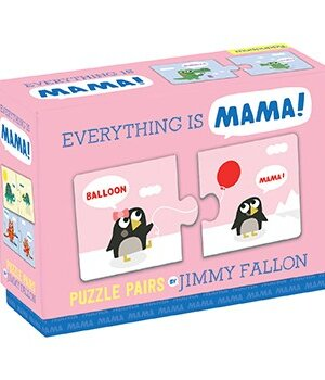 Jimmy Fallon Everything Is Mama Puzzle Pairs